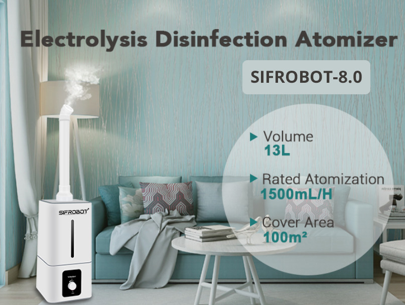 Electrolysis Disinfection Atomizer