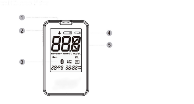 FDA Bluetooth Glucose Meter SIFGLUCO-3.5 specification