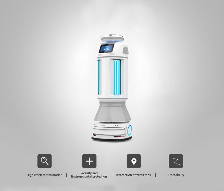 Intelligent Autonomous UVC Disinfection Robot: SIFROBOT-6.56