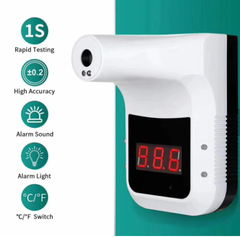 Bluetooth Wall-Mounted Infrared Thermometer + Tripod: SIFROBOT-7.61