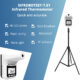 Wall-Mounted Infrared Thermometer + Tripod: SIFROBOTSET-7.61