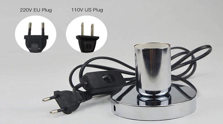 Desktop UV Sterilizing Lamp: SIFSTERIL-1.3  Plug