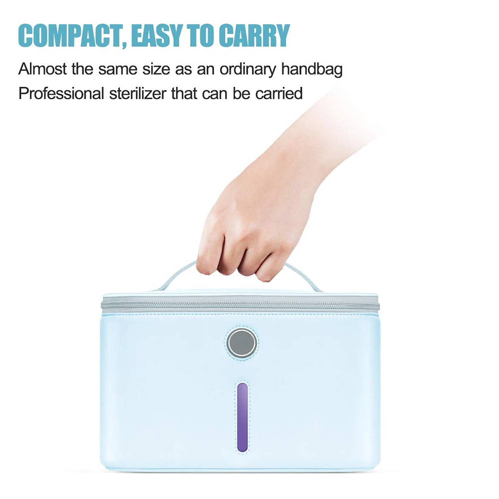 SAFETRAVELPACK-1.5:Handheld UV Light Sterilizing Stick + UV LED Sterilizer Box SIFSTERIL-1.5 easy