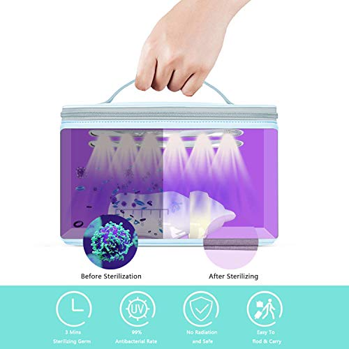 Home Safety Package SAFEHOMEPACK-1.2: Bluetooth Doorbell Non-Contact Thermometer + Disinfection UV Lamp + UV LED Sterilizer Box  + Handheld UV Light Sterilization Stick SIFSTERIL-1.5 features