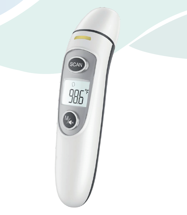 Bluetooth Ear and Forehead Infrared Thermometer SIFTHERMO-2.23B main pic