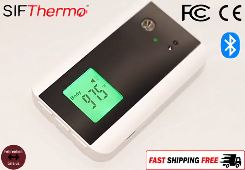 Bluetooth Doorbell Non-Contact Thermometer: SIFTHERMO-3.0B main pic