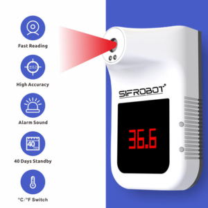 Smart Wall-Mounted Thermometer SIFROBOT-7.62