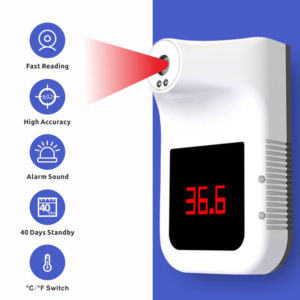 Smart Wall-Mounted Thermometer SIFROBOT-7.62 main