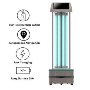 Autonomous UVC Disinfection Robot: SIFROBOT-6.57 main pic