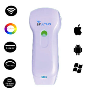 Color Doppler USB and Wireless 3 in 1 Ultrasound Scanner: SIFULTRAS-3.33