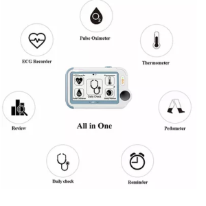 Bluetooth Vital signs all in one