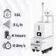 Dry Fog Disinfection Robot: SIFROBOT-6.67