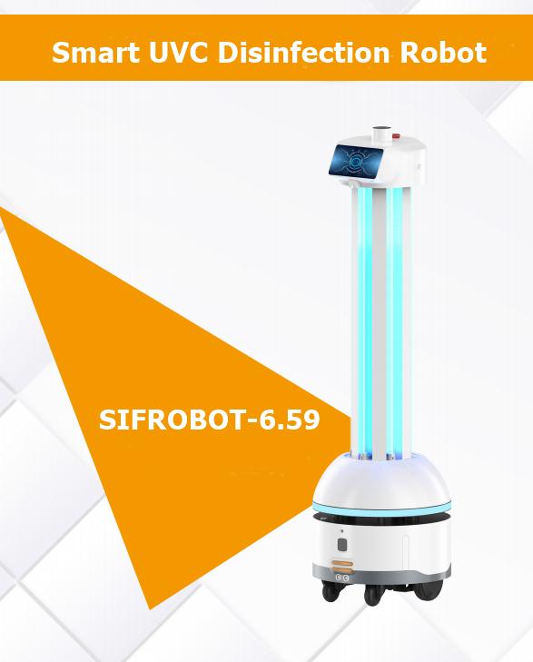 Smart UVC Disinfection Robot