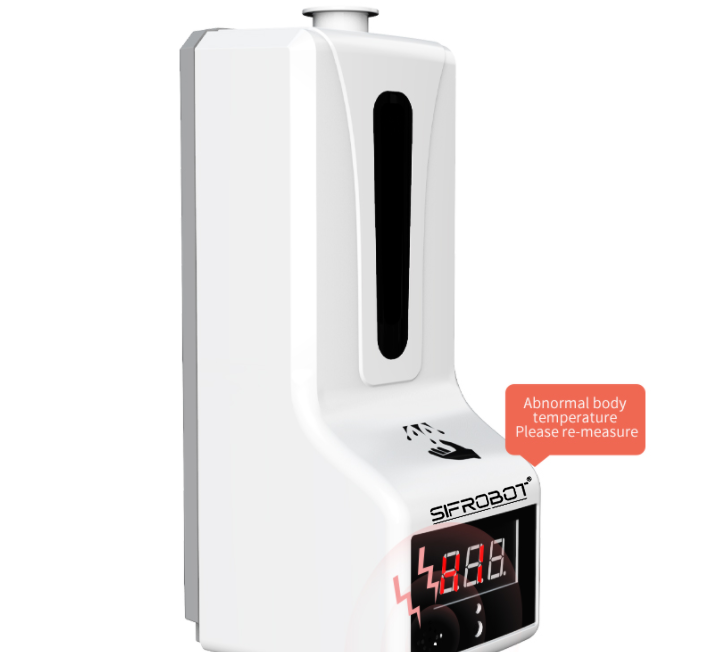 Hand-sanitizer-dispenser-and-Temperature-checker-SIFCLEANTEMP-1.5-with-abnormal-body-Temperature-alert