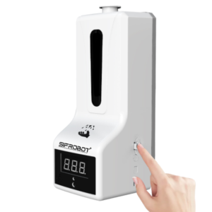Temperature checker and sanitizer dispenser SIFCLEANTEMP-1.5 switch mode key