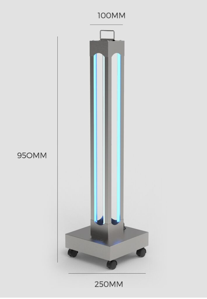 Ultraviolet Disinfection Cart: SIFUVC-1.2