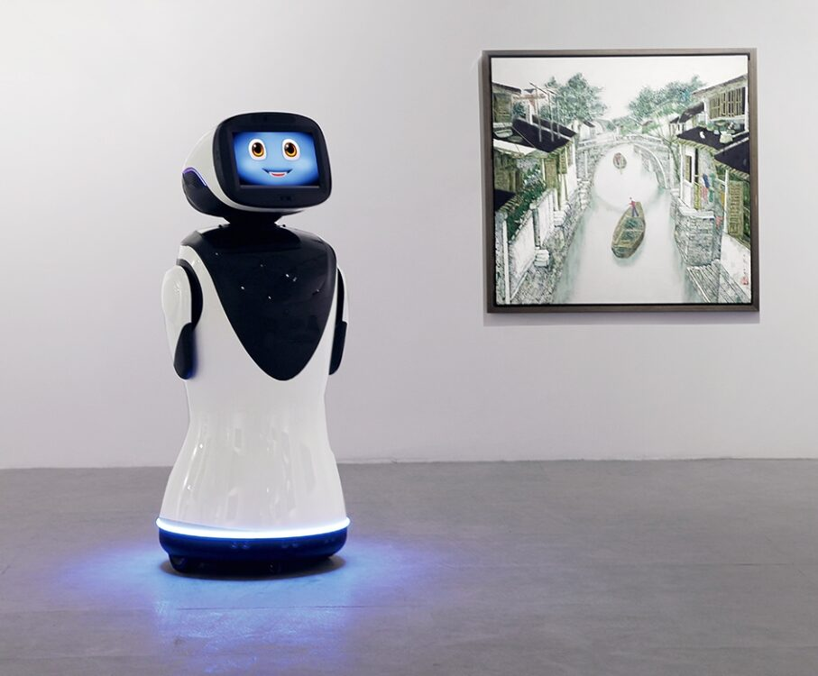 Reception Robot