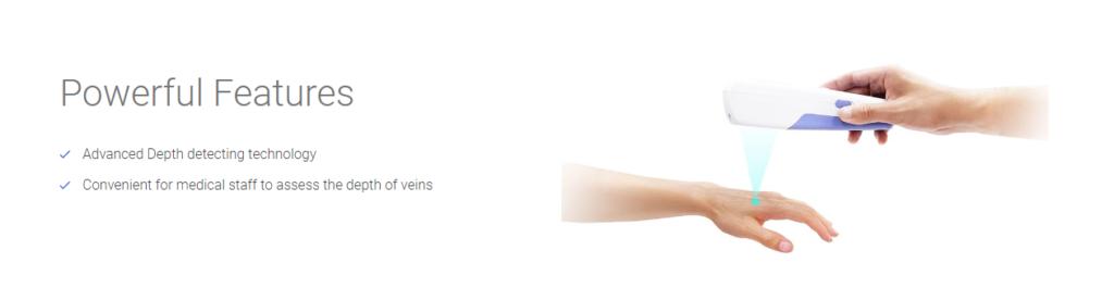 Vein Finder Stand Type SIFVEINSET-7.21