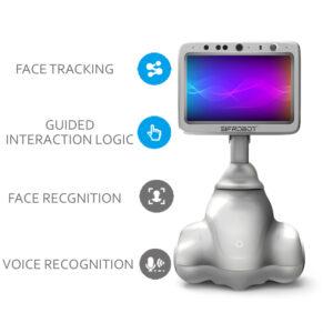 Desktop Reception Robot: SIFROBOT-4.12